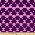 Joel Dewberry Cali Mod Home Decor Sateen Twill Trinity Lavender