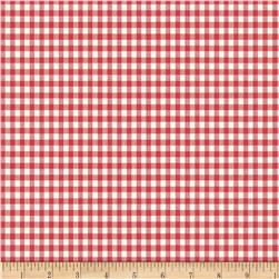 Backyard Pals Gingham Red