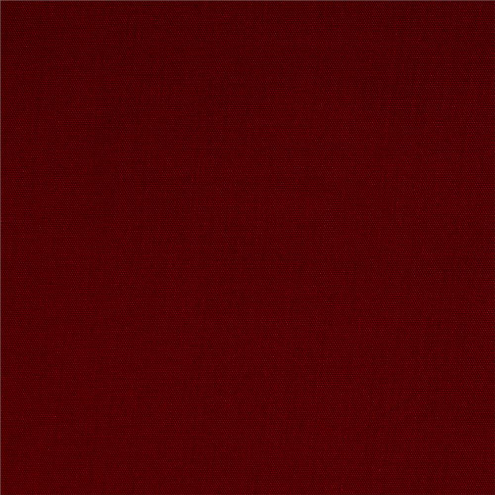 60'' Poly Cotton Broadcloth Cranberry Fabric By The Yard