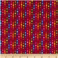 Calypso Circle Stripes Maroon/Multi
