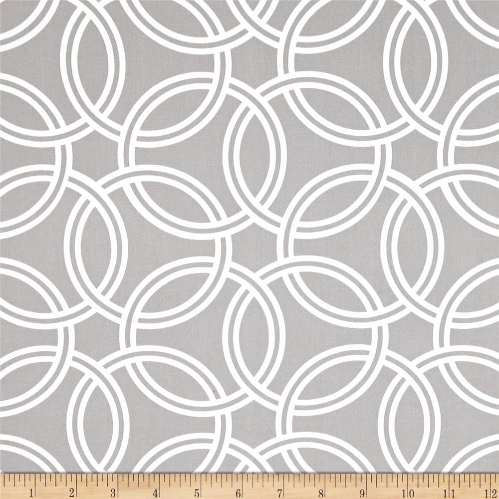 Michael Miller Bekko Home Decor Swirl Slate Grey
