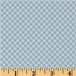 Penny Rose Bunnies & Cream Bunnies Gingham Blue
