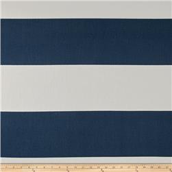 Premier Prints Cabana Stripe Premier Navy Fabric