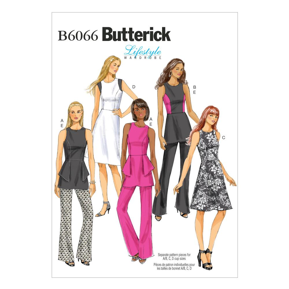 Butterick Misses'/Misses' Petite Tunic, Dress and Pants Pattern