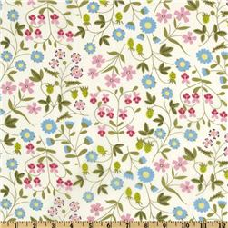 Liberty of London Tana Lawn Mirabelle Pink/Blue/Cream