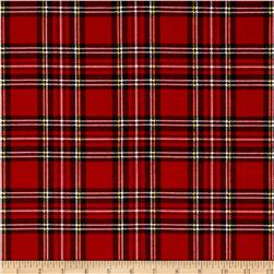 Flannel Scottie Plaid Red/Multi