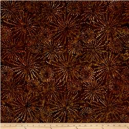 Batavian Batiks Sparklets Golden Brown