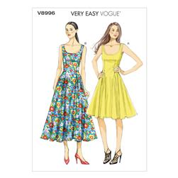 Vogue Misses' Dress Pattern V8996 Size B50