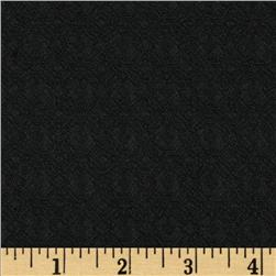Loft Stretch Jacquard Black