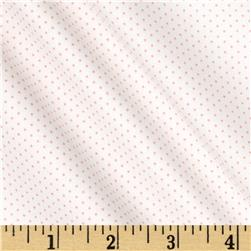 Kaufman Sevenberry Petite Basics Mini Dot Baby Pink