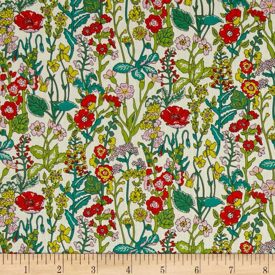 Liberty of London Flowers Lawn Cream/Multi