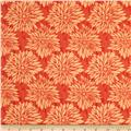 Ty Pennington Home Decor Sateen Fall 11 Dahlia Orange