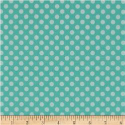 Riley Blake Flannel Simply Sweet Dot Blue
