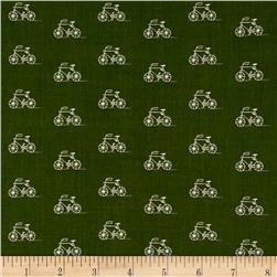 Kaufman London Calling Lawn Bicycle Olive