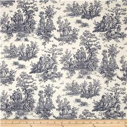 Premier Prints Jamestown Toile Blue
