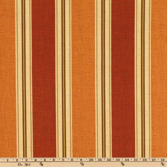 Bryant Indoor/Outdoor Landry Stripe Pumpkin Spice