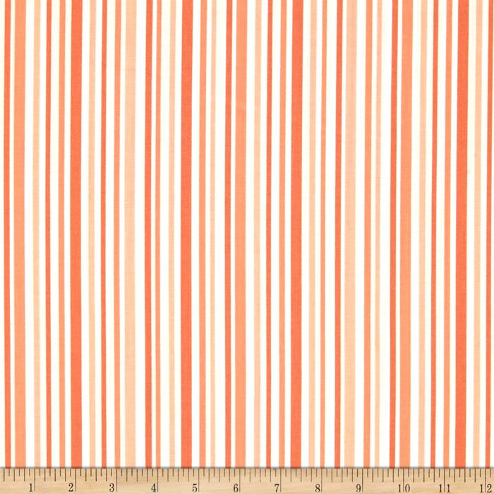Moda Hi De Ho Stripe Orange