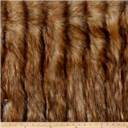 Luxury Faux Fur Wild Coyote Honey
