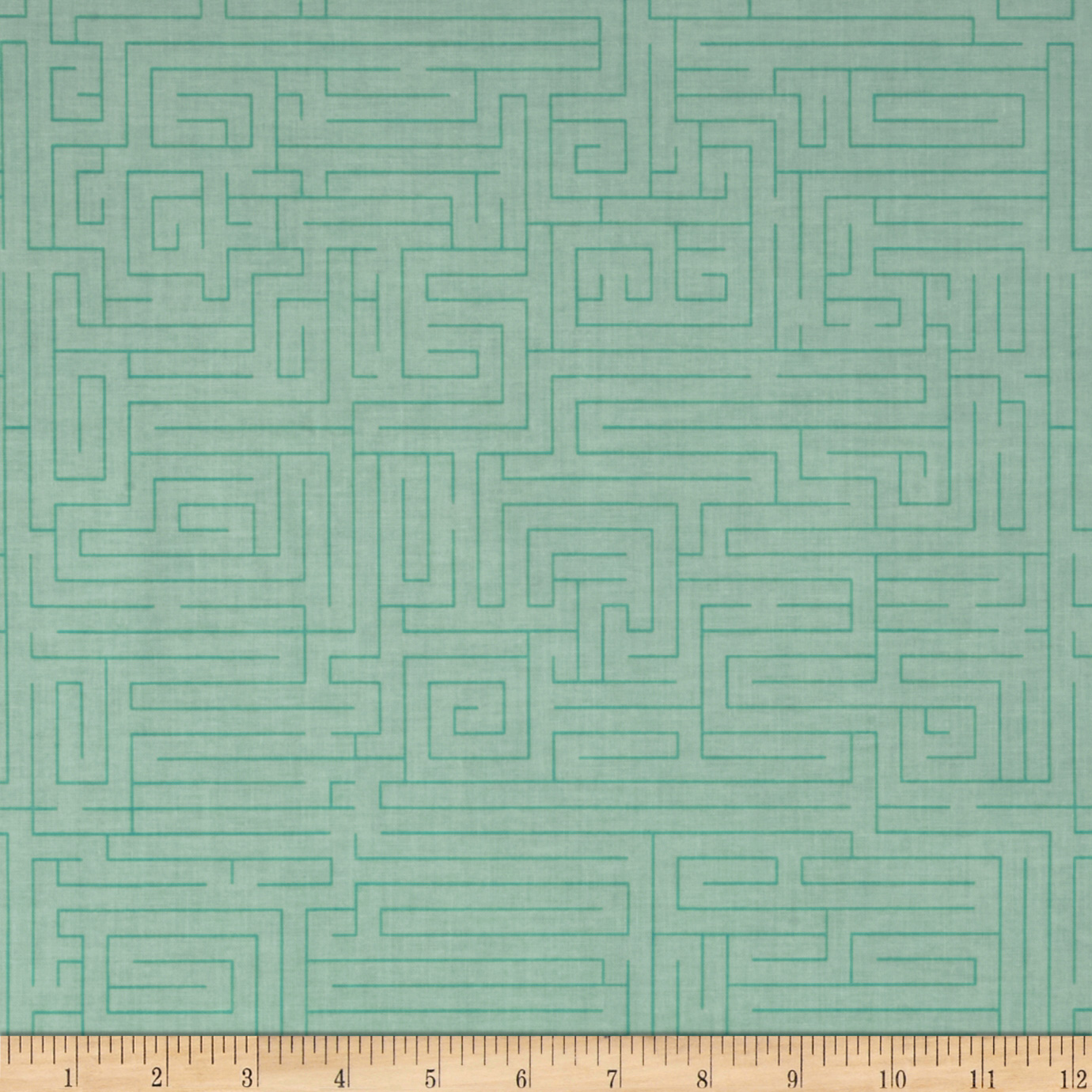 Riley Blake Fun & Games Maze Aqua Fabric