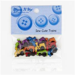 Dress It Up Embellisment Buttons  Sew Cute Trains