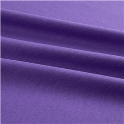 Cotton Jersey Knit Solid Dark Lavendar