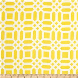 Riley Blake Home Decor Vivid Lattice Yellow
