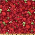 Farmer John's Marketplace II Raspberries Red/Pink