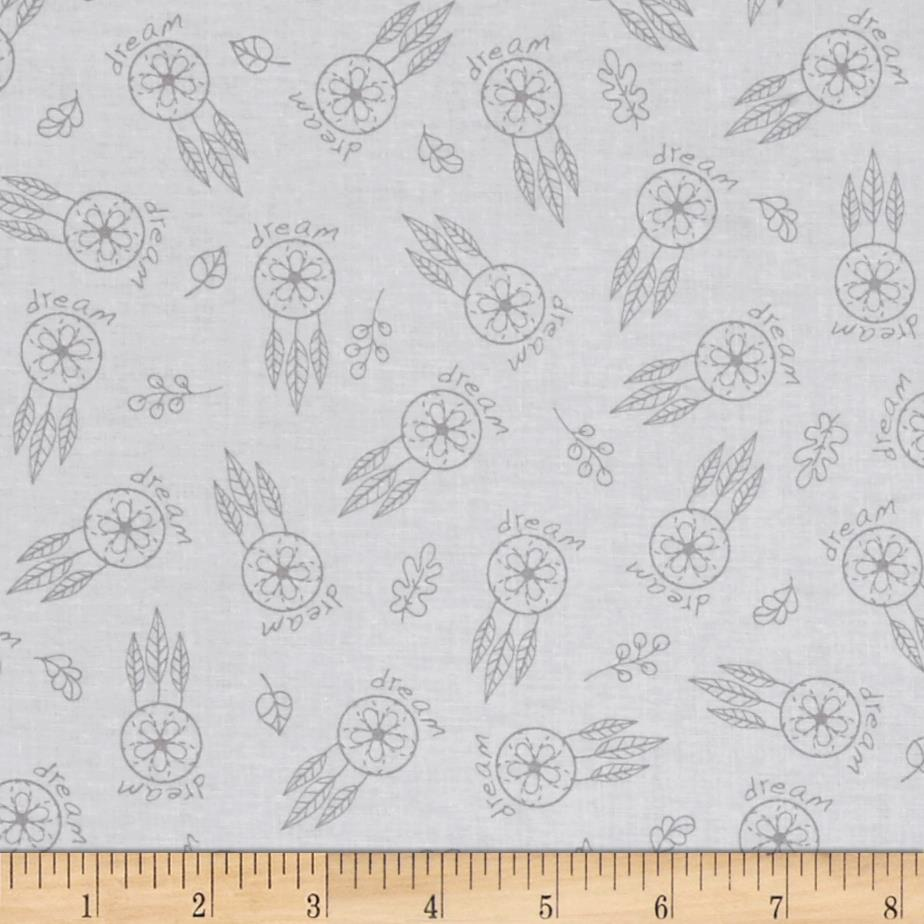 Woodland Gypsy Feathers White