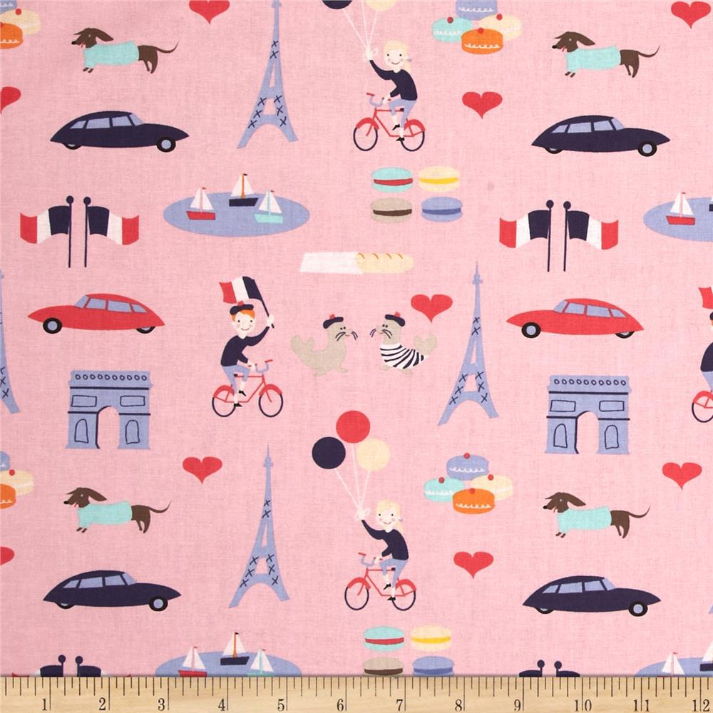 Dear Stella French Lessons Paris Pink