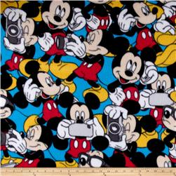 Disney Fleece Mickey Mouse Blue