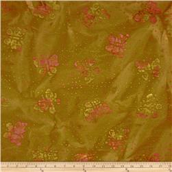Indian Batik Butterflies Brown