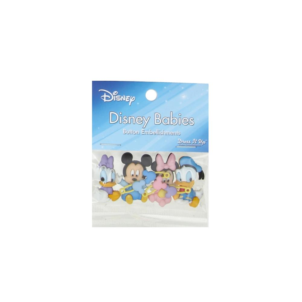 Dress It Up Disney Disney Babies Button