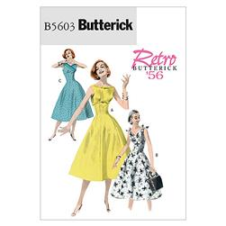Butterick Misses' Dress Pattern B5603 Size AA0