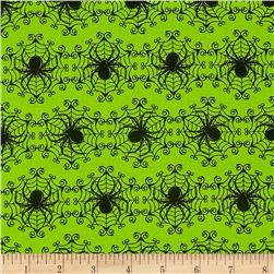 Ghosts & Ghouls Spider Green