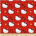 Hello Kitty Plaid Diamond Red