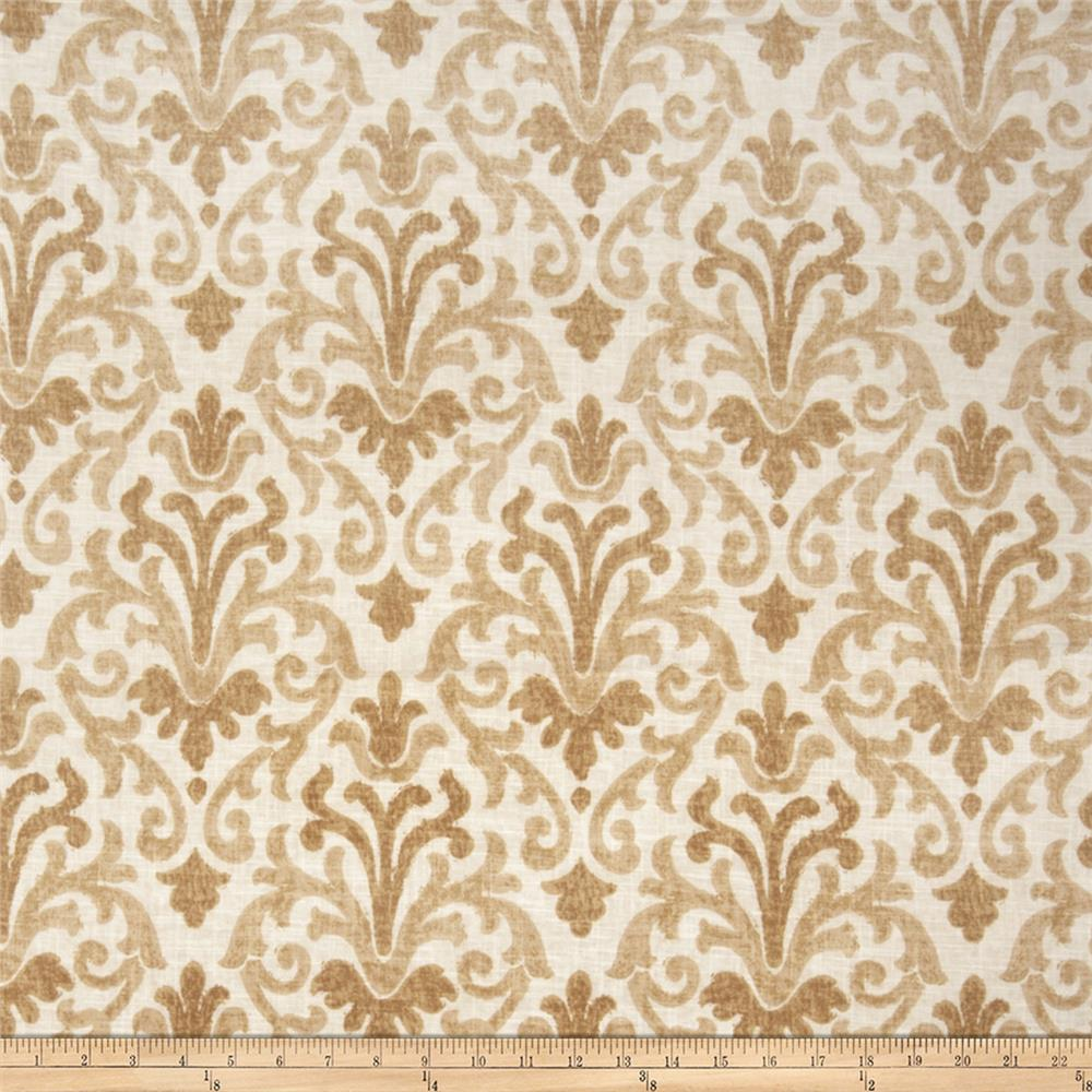 Jaclyn Smith 02098 Linen Blend Fresh Gold
