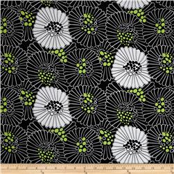 Mojito Large Toss Floral Black