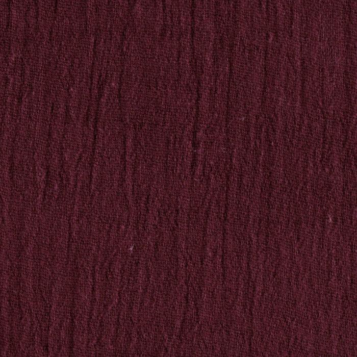 Island Breeze Gauze Burgundy