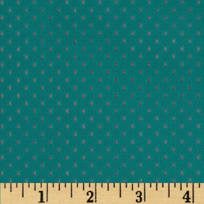 Designer Nylon Athletic Mesh Turquoise
