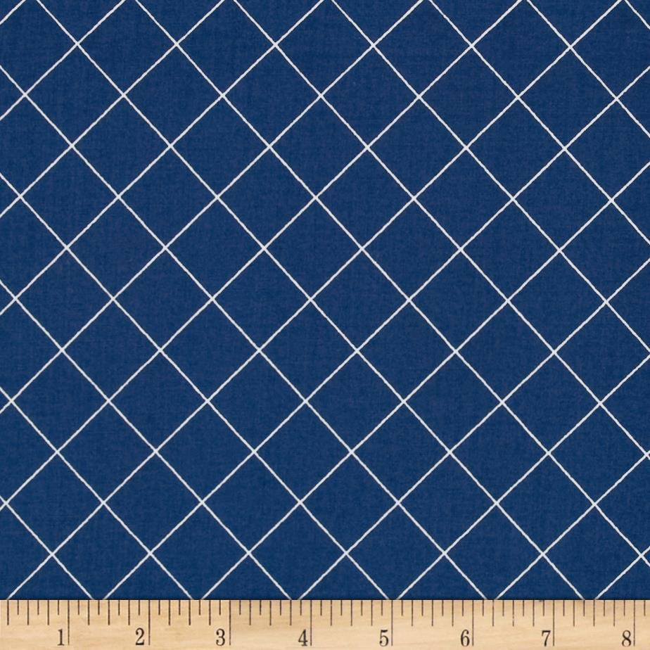 Doe Trellis Blue