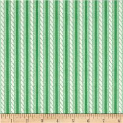 Verna Mosquera Love & Friendship Twisted Stripe Mint