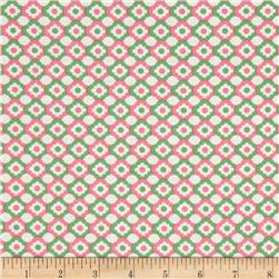 Verna Mosquera Love & Friendship Geometric Flower Mint