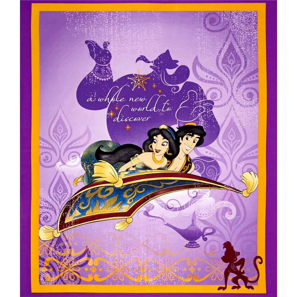 Disney Jasmine Princess A Whole New World Panel