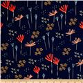 Moda Desert Bloom Wildflower Midnight