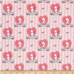 Riley Blake Kewpie Love Doll Pink