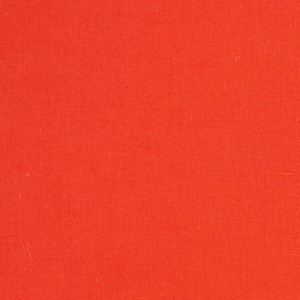 Stretch Poplin Solid Orange