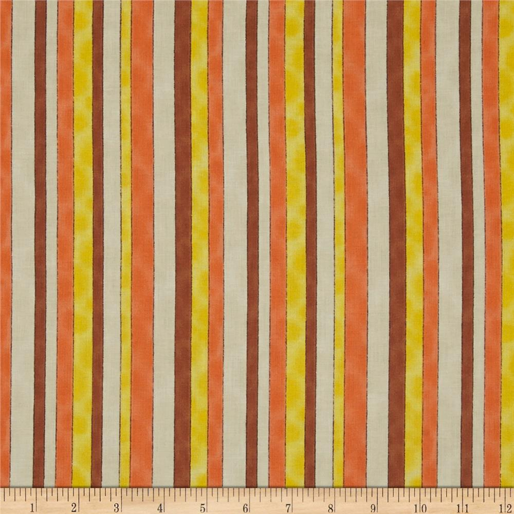 Fuzzy Duckling Stripe Orange