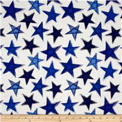 Marblehead Valor Large Stars Blue/White