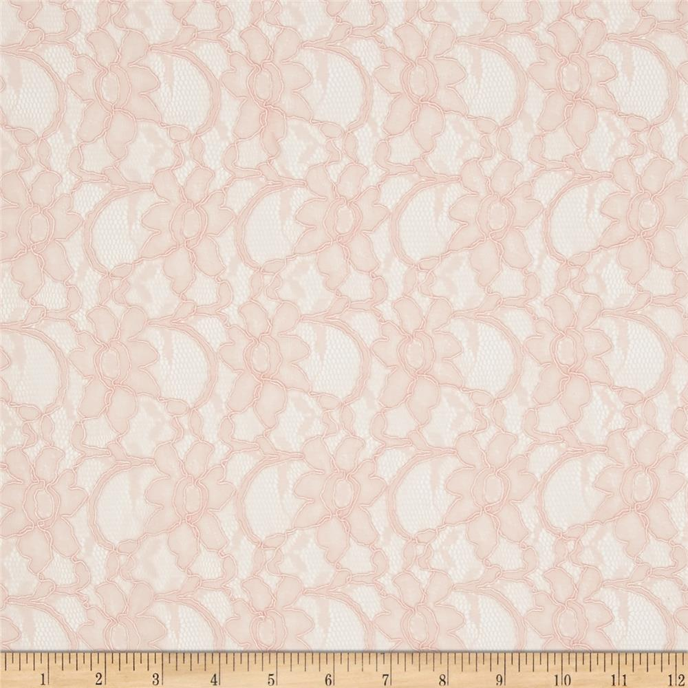 Telio Xanna Floral Lace Light Soft Rose