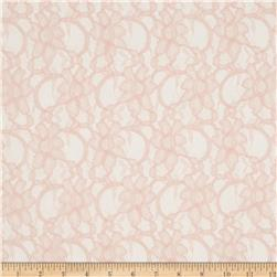 Xanna Floral Lace Light Soft Rose